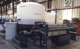 Beckhart water treatment system