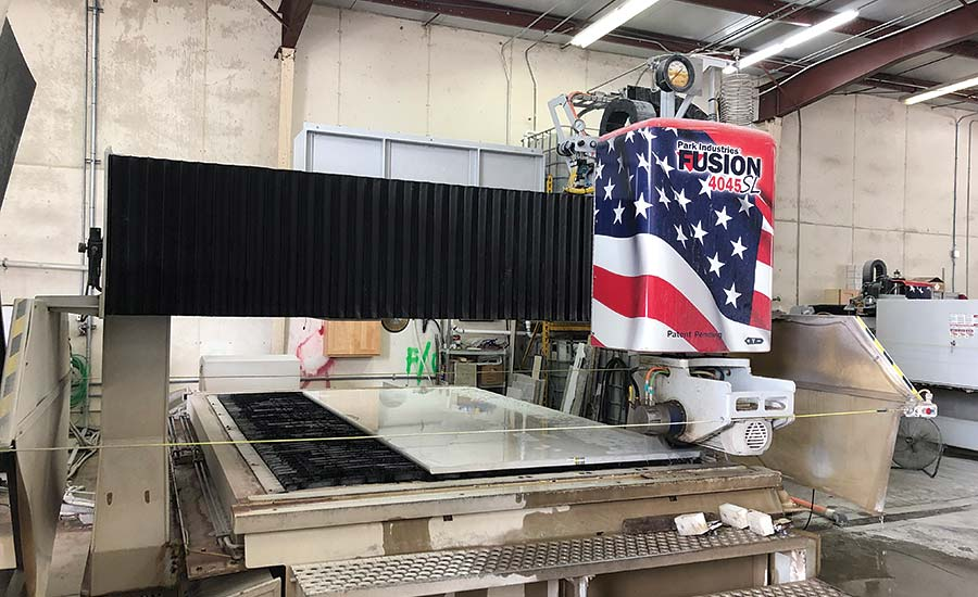 Park Industries Fusion saw/waterjet