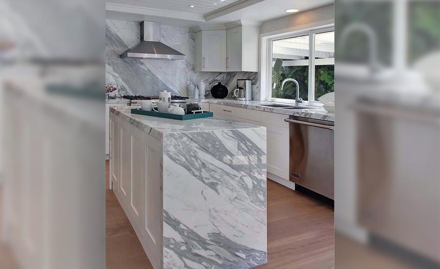 Quality Stone Concepts outputs between four to five kitchens per day