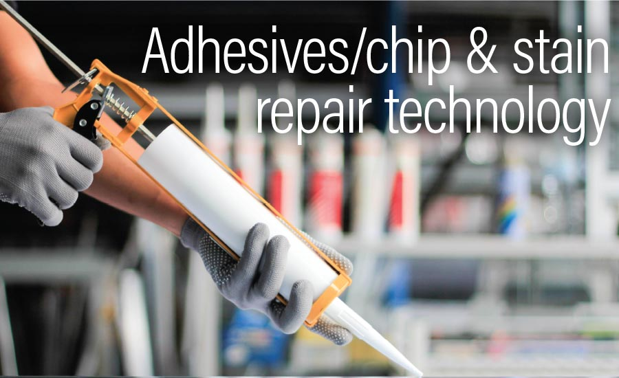 What's new in adhesives/chip & stain repair technology