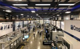 CMS showroom  area for machine demonstrations