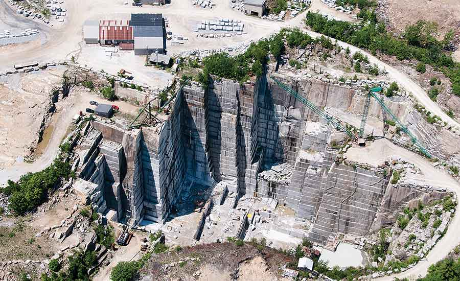 Swenson has several quarries throughout the Northeast
