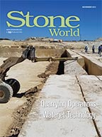 Stone World November 2019 issue cover image