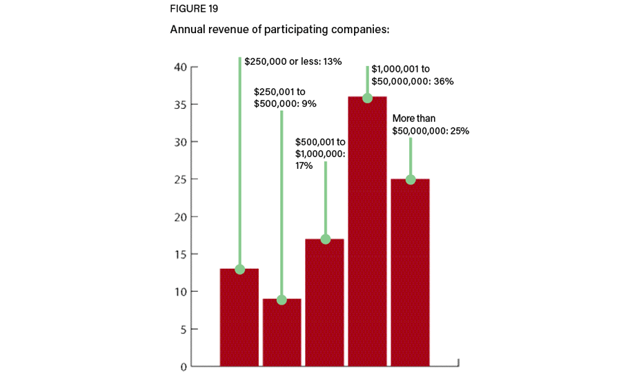 Figure 19: Participant annual revenue