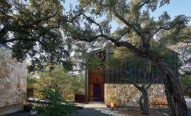 a private residence in the Texas Hill Country
