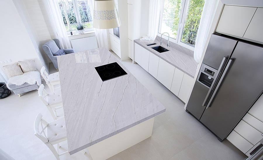 Stone of the Month: Azzurra Bay quartzite