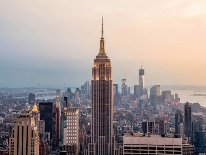Stone of the Month: Indiana Limestone. The Empire State Building in New York City