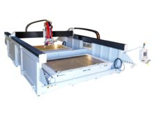 SW July 2021 Machine of the Month: SABERjet™ XP 5-Axis CNC Sawjet feature photo