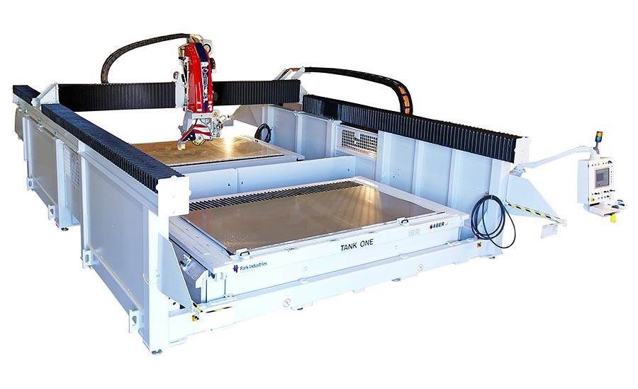 Machine of the Month: SABERjet™ XP 5-Axis CNC Sawjet