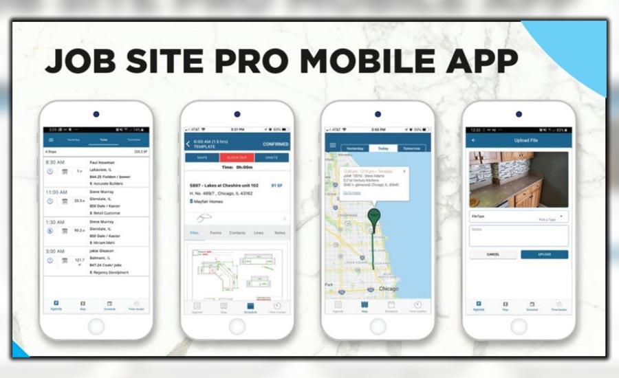 Technology Update: Jobsite App Mobile App