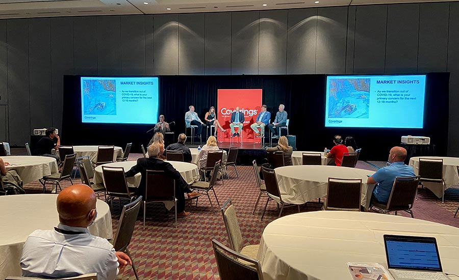 Coverings 2021 Buzzes With Activity