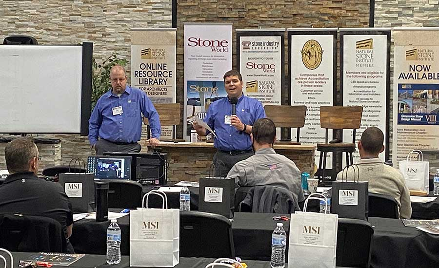 Inside the Shop: Colorado Stone Summit