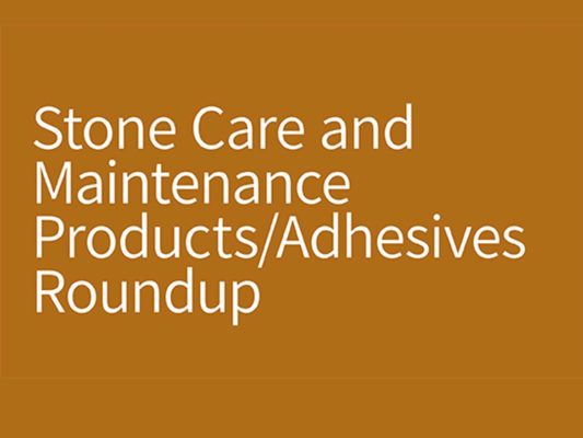 SW 1021 Stone Care Products feature photo