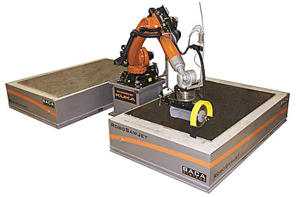 SawJet Cutting System