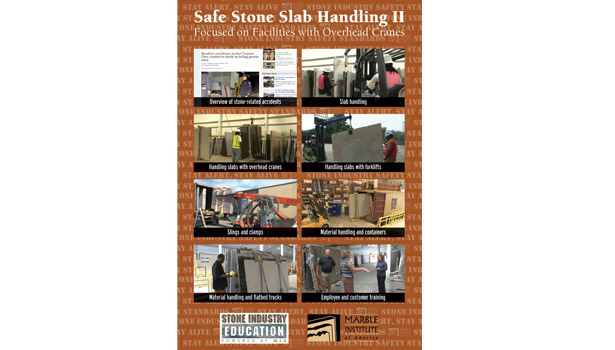 safe stone slab handling video