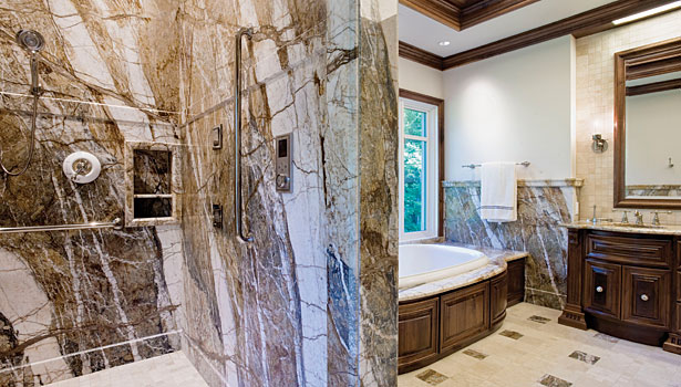 Sensation marble bathroom