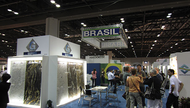 Coverings 2013 exhibition floor