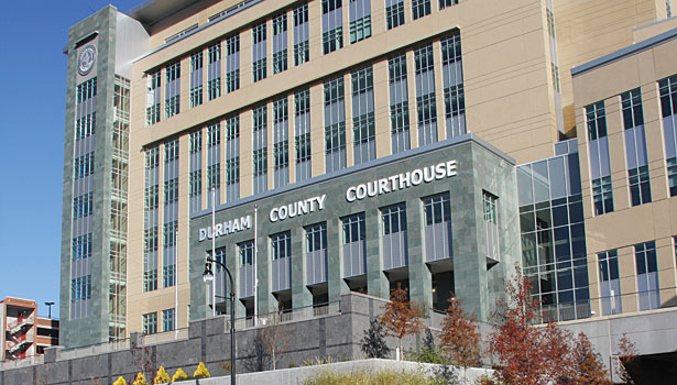 Durham County Justice Building exterior