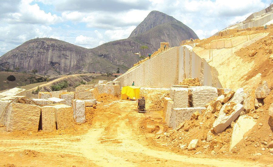 With Seven Quarries Throughout Brazil Margramar Granites