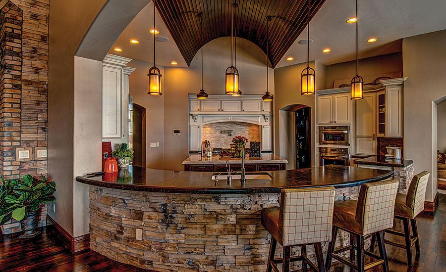 Italian Stone Enhances Beauty Of Colorado Residence 2015