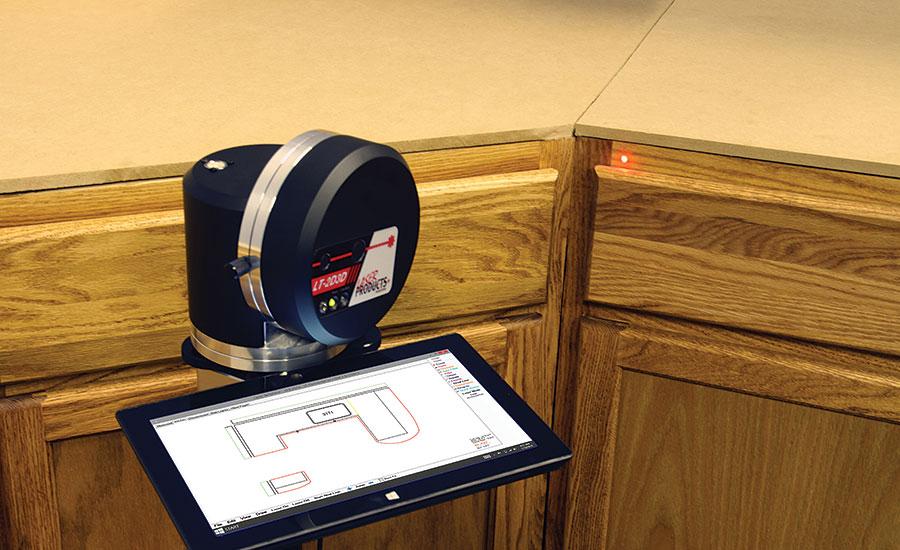 Tech update: The LT-2D3D Laser Templator   2015-04-01   Stone World