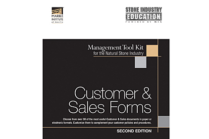 CUSTOMER & SALES FORMS TOOLKIT
