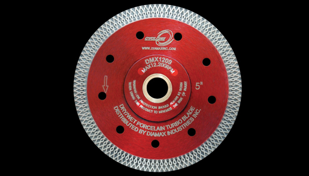 Cyclone by Diamax Dry-Cutting Porcelain Blade