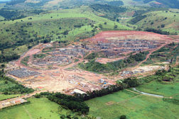 Brazilian stone quarry
