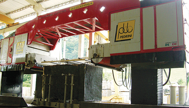 diamond multi-wire saws from Pedrini of Italy