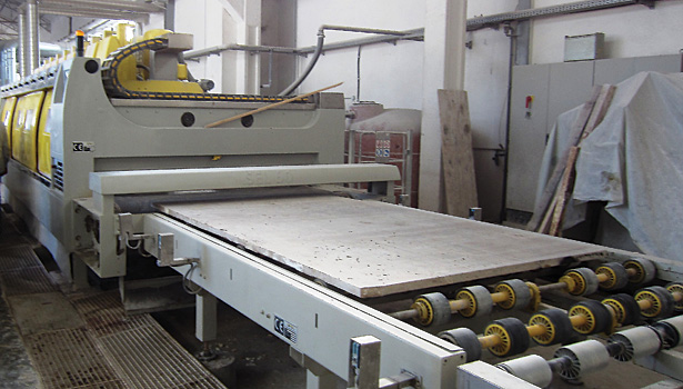 Simec polishing line