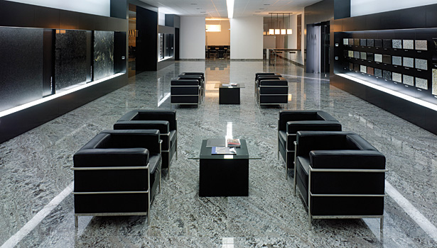 Levantina granite center in Spain