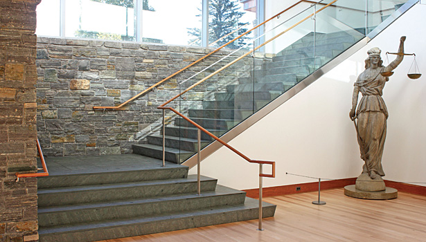 Shelburne Museum In Vermont Uses Local Slate Flooring