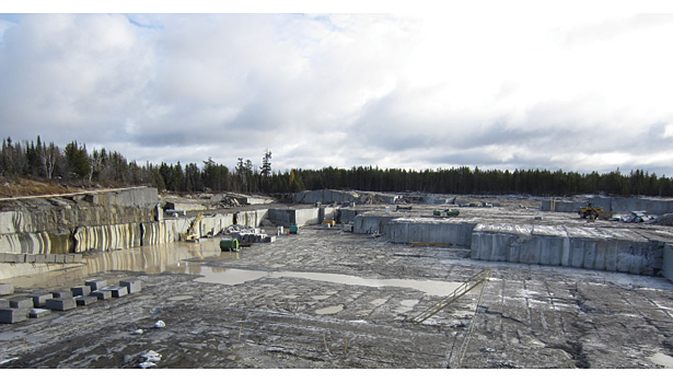 Coldsprings quarry for Mesabi Black