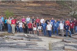 Minick Materials annual quarry tour