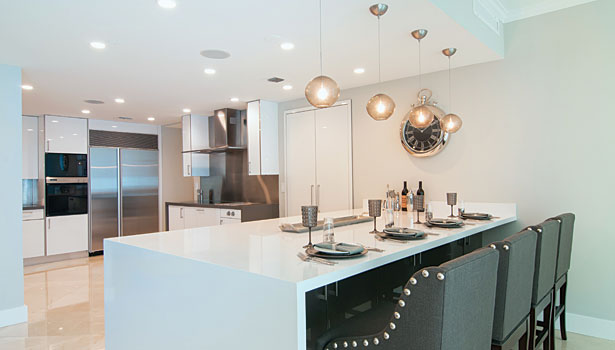 Quartz and white marble remain growing trends of kitchen for Extreme kitchen designs