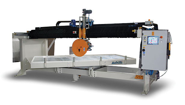 Machine Of The Month The Achilli Mbs Ig Bridge Saw 2015