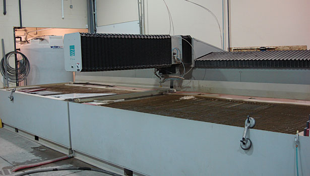waterjet from Flow International