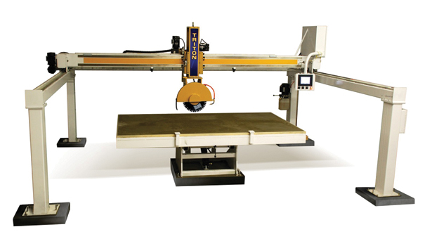 GranQuartz Heavy-Duty Bridge Saw