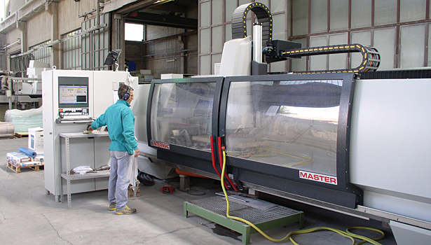 CNC stoneworking center