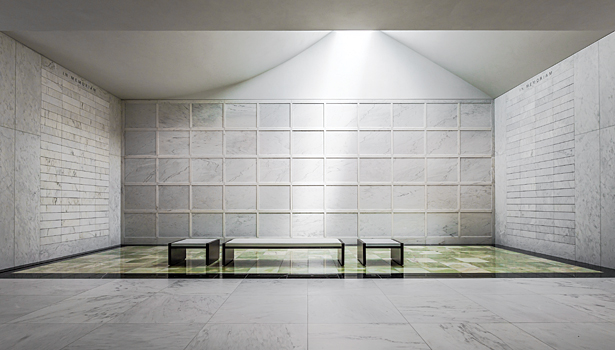 Stone mausoleum completes minnesota cemetery 2013 01 04 for Interior design lighting resources