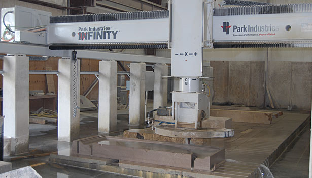 Infinity CNC stone profiling system