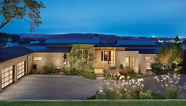 A contemporary design in Texas limestone | 2013-07-02 ...