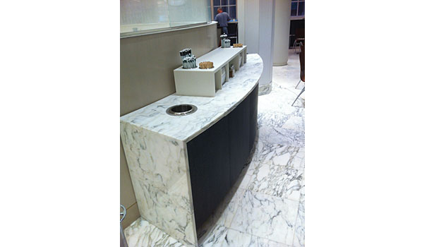 Santucci Group white marble