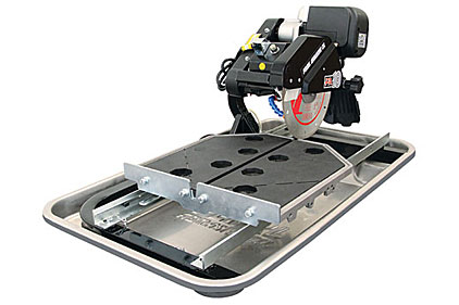 Tech update new pearl pa10 tile and stone saw from pearl for New tile technology