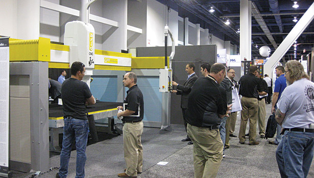 Coverings 2014 machine demonstrations