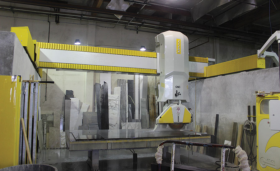 GMM Litox CNC 6-axis bridge sawing machine