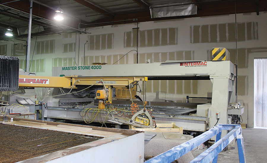Intermac Master Stone 4000 CNC stoneworking center