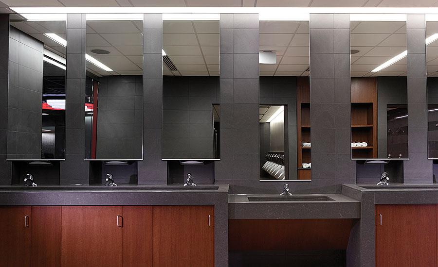 Ohio State University Locker Room Gets Quartz Design
