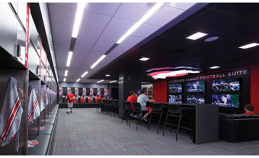 Football Locker Room Ideas