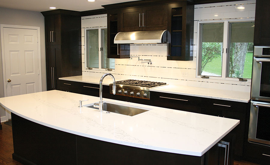 Homeowners Choose White Quartz For Form And Function
